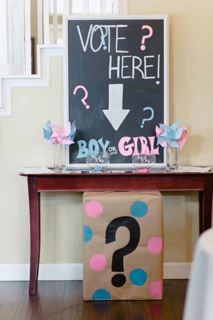 Melissa John S Gender Reveal Party Playground Magazine