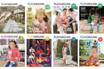 Playground Magazine Covers