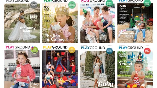 Playground Magazine Covers