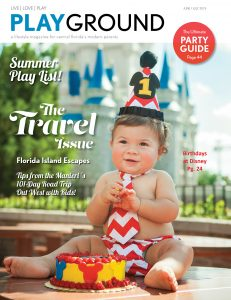 PLAYGROUND Magazine June-July 2019 Cover